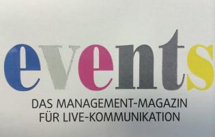 EVENTS-Schriftzug